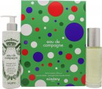 Sisley Eau De Campagne Spotted Gift Set 100ml EDT + 250ml Shower Gel