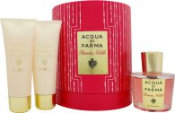 Acqua di Parma Peonia Nobile Set Regalo 100ml EDP + 75g Crema Corpo + 75ml Gel Doccia