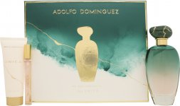 Adolfo Dominguez Unica Gift Set 100ml EDT + 75ml Body Lotion + 10ml EDT