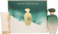 Adolfo Dominguez Unica Geschenkset 100ml EDT + 75ml Body Lotion + 10ml EDT