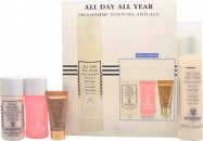 Sisley All Day All Year Essential Anti-Aging Gift Set 50ml All Day All Year Day Care + 30ml Lyslait Cleansing Milk + 30ml Floral Toning Lotion + 5ml Supremÿa at Night