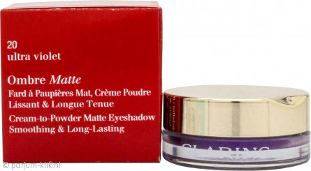 Clarins Ombre Matte Eyeshadow 7g - 20 Ultra Violet