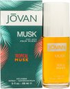 Jovan Tropical Musk Eau de Cologne 88ml Spray