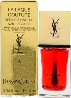 Yves Saint Laurent La Laque Couture Nail Varnish 10g - 66 Orange Drop