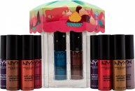 NYX Limited Edition Whipped Wonderland Soft Matte Metallic Lip Cream Geschenkset 12 x 4.7ml Lip Colours