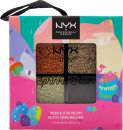 NYX Limited Edition Sprinkle Town Cream Glitter Palette 4g - Chocolate Shake
