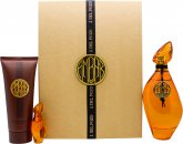 Jesus Del Pozo Ambar Gift Set 100ml EDT + 4ml EDT + 100ml Body Lotion