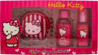 Hello Kitty Pink Love Gift Set 0.5oz (15ml) EDT + 1.7oz (50ml) Shower Gel + Coin Purse
