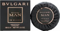 Bvlgari Man In Black Shaving Soap 100g