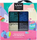 NYX Limited Edition Sprinkle Town Cream Glitter Palette 4g - Peppermint