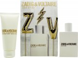 Zadig & Voltaire Just Rock! voor Haar Geschenkset 50ml EDP + 100ml Body Lotion