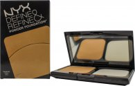 NYX Cosmetics Define Refine Powder Foundation 9.5g - DRPF03 Golden