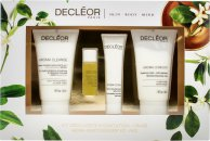 Decléor Aroma Moist Discovery Face Kit Gift Set 50ml Cleansing Mousse + 5ml Face Oil + 15ml Face Cream + 50ml Body Milk