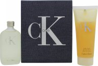 Calvin Klein CK One Gavesett 50ml EdT + 100ml Body Wash