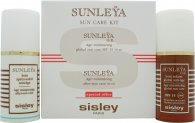 Sisley Sunleÿa Kit Solaire Gift Set 1.7oz (50ml) Sunleÿa G.E. Age Minimizing Global Sun Care SPF15 + 1.7oz (50ml) Sunleÿa Age Minimizing After-Sun Care