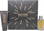 Hugo Boss Boss The Scent Gift Set 50ml EDT Spray + 100ml Żel pod Prysznic