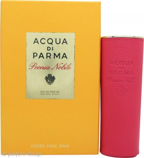 Acqua di Parma Peonia Nobile Eau de Parfum 20ml Leather Purse Spray
