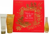 Decléor Wake Up & Be Awesome Gift Set 15ml Face Serum + 30ml Face Cream + 50ml Body Milk