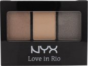 NYX Love In Rio Eyeshadow Palette 3g - 12 Meet Me at The Copa