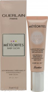 Guerlain Paris Meteorites Baby Glow Light Revealing Sheer Fondotinta 30ml - 04 Dore