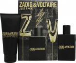 Zadig & Voltaire Just Rock! for Him Gift Set 50ml EDT + 100ml Shower Gel