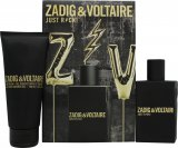 Zadig & Voltaire Just Rock! for Him Gift Set 50ml EDT + 100ml Żel pod Prysznic