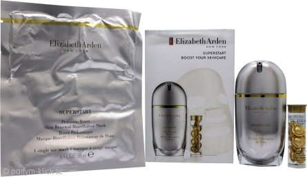 Elizabeth Arden Superstart Boost Your Skincare Presentset 30ml Skin Renewal Booster + 7 Ceramide Capsule Serum + 1 Sheet Mask