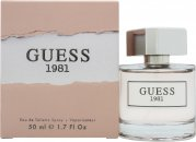 Guess 1981 Eau de Toilette 50ml Spray