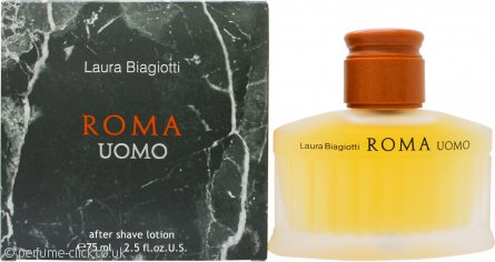 Laura Biagiotti Roma Uomo Aftershave 75ml Splash