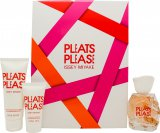 Issey Miyake Pleats Please Gift Set 50ml EDT + 75ml Body Lotion + 30ml Shower Gel