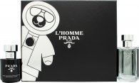 Prada L'Homme Gift Set 50ml EDT + 100ml Shower Gel