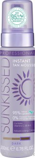 Sunkissed Professional Instant Self Tan Mousse 200ml - Dark