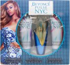 Beyonce Pulse NYC Gift Set 30ml EDP + 75ml Body lotion + 75ml Shower Gel