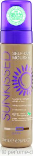 Sunkissed Self Tanning Mousse 200ml - Dark