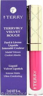 By Terry Terrybly Velvet Rouge Rossetto Liquido 2ml - 7 Bankable Rose