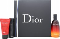 Christian Dior Fahrenheit Gift Set 3.4oz (100ml) EDT + 1.7oz (50ml) Shower Gel + 0.3oz (10ml) EDT