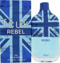 FCUK Rebel For Him Eau De Toilette 3.4oz (100ml) Spray