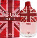 FCUK Rebel For Her Eau De Toilette 100ml Spray