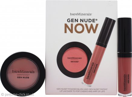 bareMinerals Gen Nude Blush And Lip Colour Gift Set 2 Pieces