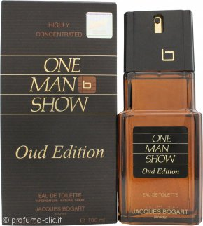 Jacques Bogart One Man Show Oud Edition Eau de Toilette 100ml Spray