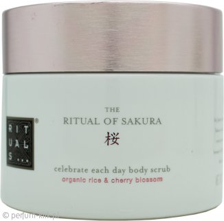 Rituals Sakura Celebrate Each Day Body Scrub Organic Rice & Cherry Blossom 375g