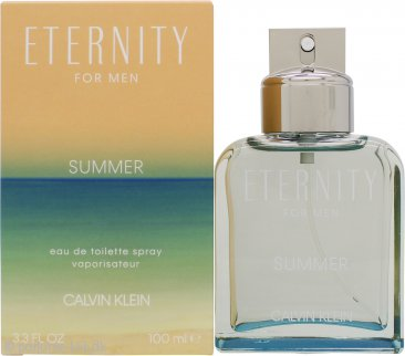 Calvin Klein Eternity for Men Summer 2019 Eau de Toilette 100ml Spray