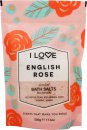I Love... English Rose Bath Salts 500g