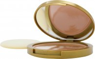 Mayfair Feather Finish Compact Puder mit Spiegel 10g - 03 Deep Peach