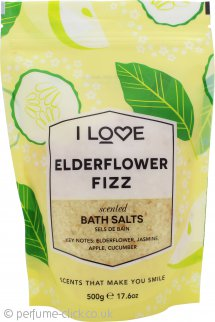 I Love... Edelflower Fizz Bath Salts 500g