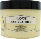 I Love... Vanilla Milk Body Butter 300ml