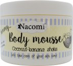 Nacomi Body Mousse 6.1oz (180ml) - Coconut-Banana Shake