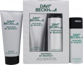 David Beckham Inspired By Respect Gift Set 150ml Deodorant Spray + 200ml Shower Gel