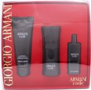 Giorgio Armani Code Gift Set 50ml EDT + 15ml EDT + 75ml Shower Gel