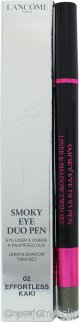 Lancôme Smoky Eye Duo Pen 0.0oz (1.4ml) - 02 Effortless Kaki